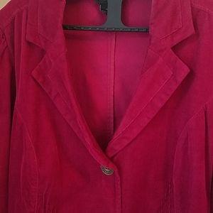 Lane Bryant Red Blazer Jacket